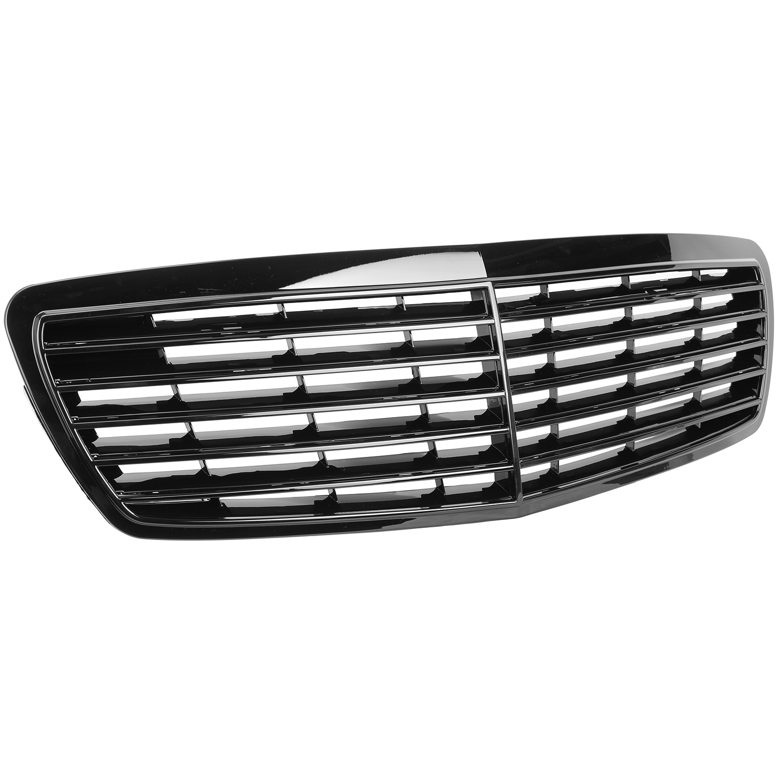 Kühlergrill Sportgrill Mercedes Grill W211 S211 06-08 glanz schwarz